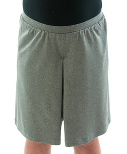 "Athletic Two Pleater Culottes for Girl Plus Size by Dressing For His Glory is perfect for all team sport activities. It is made with performance sports fabric that keeps you dry and comfortable. It has a straight cut with a smooth elastic waist. The soft pleat in the center front and back gives its name, ""Two Pleater""."