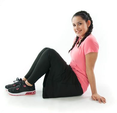 Athletic Exercise Skirt with Long Leggings  / Juniors Size