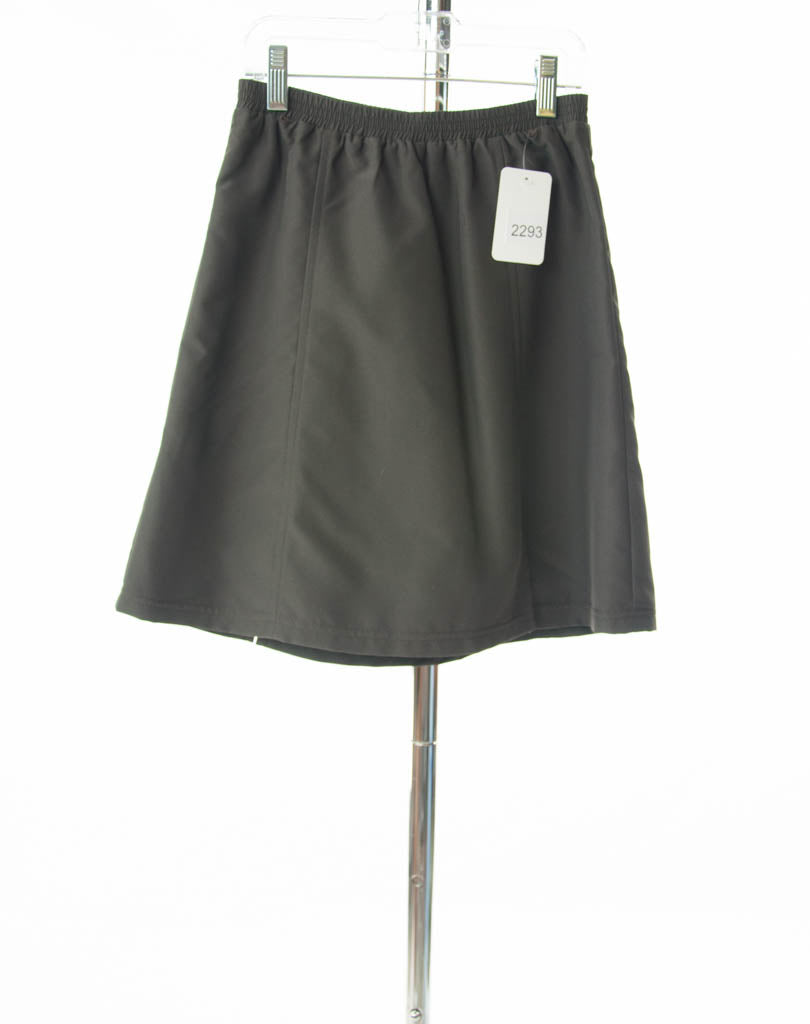 #2293 Sale Rack Item /  Swim Flare Skort / Girls 10 / Brown