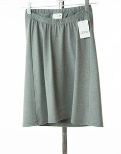 #2308 Sale Rack Item / Athletic Exercise Skirt / Girls Plus Size 7 / Heather Gray