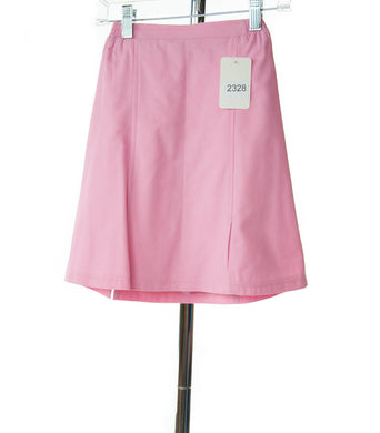 #2328 Sale Rack Item / Flare Skort / Girls 6 / Pink Cotton