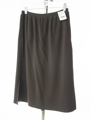 #2341 Sale Rack Item / Straight Skort / Tall X-Small / Brown