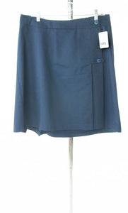 #2373 Sale Rack Item / Uniform Skirt / Womens 16 / Navy