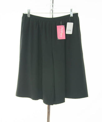 #2374 Sale Rack Item / Walking Culottes / Petite Large / Black
