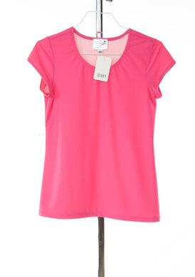 #2381 Sale Rack Item /  Swim Tee / Junior X-Small / Pink