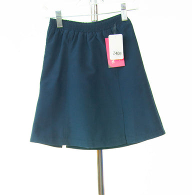 #2409 Sale Rack Item /  Swim Flare Skort / Girls 6 / Navy