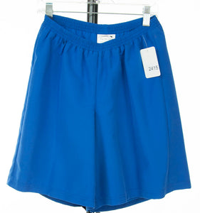 #2415 Sale Rack Item /  Swim Culottes / Girls Plus Size 8 / Royal Blue