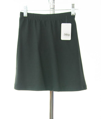 #2418 Sale Rack Item / Athletic Exercise Skirt / Girls 6 / Black