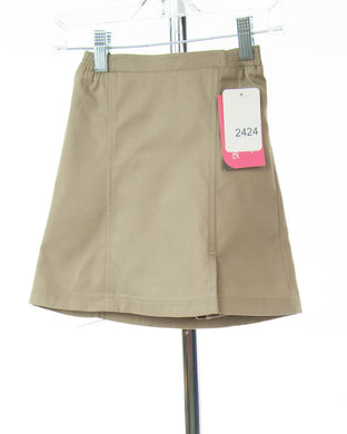 #2424 Sale Rack Item / Uniform Flare Skort / Girls 5 / Khaki