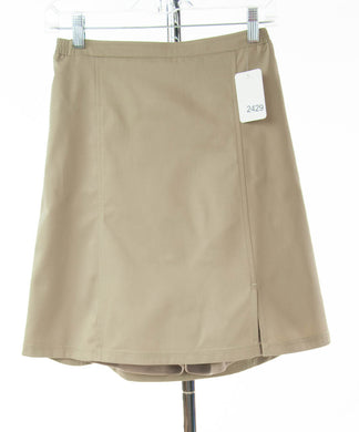 #2429 Sale Rack Item / Uniform Flare Skort / Girls 16 / Khaki