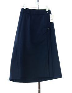 #2441 Sale Rack Item / Uniform Skirt / Girls Size 14 / Navy