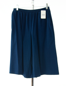 #2449 Sale Rack Item / Walking Culottes / Tall Small / Lt. Navy Twill
