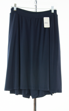#2451 Sale Rack Item / Knit Skort / Womens 22 / Navy