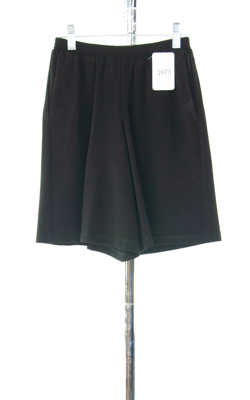 #2473 Sale Rack Item / Walking Culottes / Girls Size 8 / Black