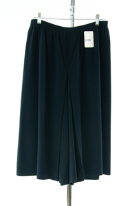 #2488 Sale Rack Item / Two Pleater Culotte / Tall Ladies X-Large / Navy