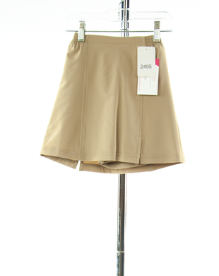 #2495 Sale Rack Item / Flare Skort / Girls 5 / Khaki Summer Weight