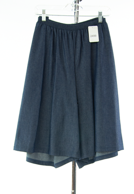 #2499 Sale Rack Item / Walking Culotte / Womens 16 / Dark Denim