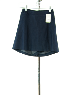 #2502 Sale Rack Item / Flare Skort / Girls Plus Size 8 / Dark Denim