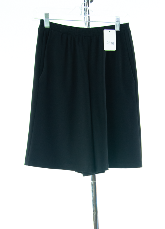 #2516 Sale Rack Item / Walking Culotte / Junior X-Small / Black