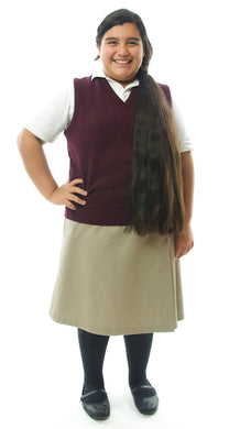 School Uniform Skirt / Girls Plus Size