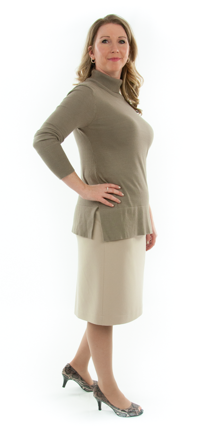 Short Straight Dress Skirt in Ladies Sizes by Dressing For His Glory  The Short Straight Skirt is the most comfortable straight skirt you will ever have. It has a contour waist that rest comfortably on the hip bone with an invisible zipper on the side seam. The skirt is fully lined with luxurious satin! And our Short Straight Dress Skirt wears extremely well. You will love to wear it everyday!