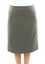 Load image into Gallery viewer, Short Straight Dress Skirt in Ladies Sizes by Dressing For His Glory  The Short Straight Skirt is the most comfortable straight skirt you will ever have. It has a contour waist that rest comfortably on the hip bone with an invisible zipper on the side seam. The skirt is fully lined with luxurious satin! And our Short Straight Dress Skirt wears extremely well. You will love to wear it everyday!