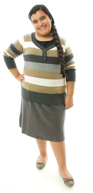 Jack and Jill Skort /  Girls Plus Size