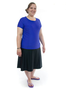 Swim Tee for Women's Plus Sizes by Dressing For His Glory