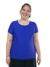 Load image into Gallery viewer, Swim Tee for Women's Plus Sizes by Dressing For His Glory