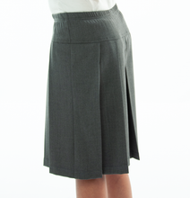 Load image into Gallery viewer, Traditional Culotte For Girls Plus Size by Dressing For His Glory  The Traditional Culotte has a bit more dressier look than any of our other culotte. It has pleats all around a drop yoke making it look like a skirt. It has an elastic waist and is very comfortable.