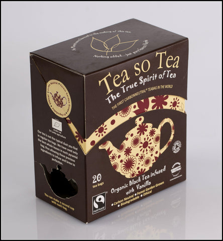 Organic Black Tea infused with Vanilla