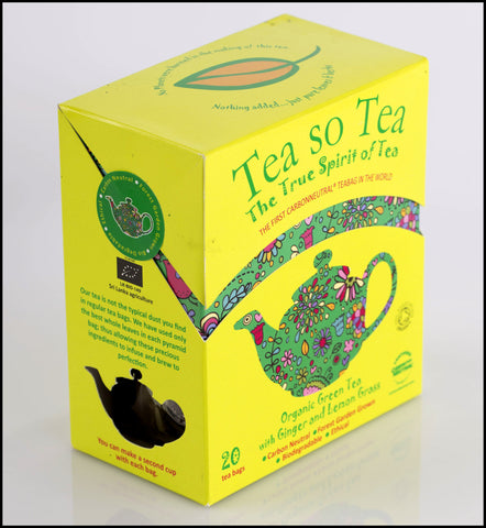 Organic Green Tea with Lemongrass & Ginger