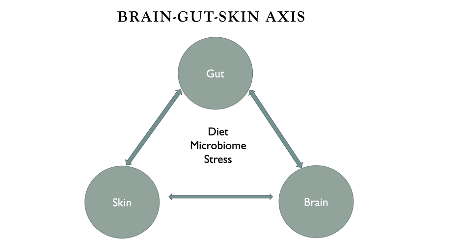 Brain-Gut-Skin Axis