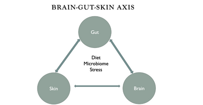Focus on the Brain-Gut-Skin Axis