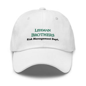 Lehman Brothers Risk Management Hat