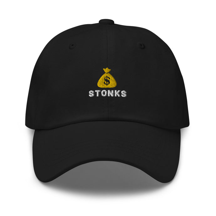 Money Bag Emoji Stonks Hat *Limited Edition*