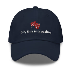 Sir This is a Casino Hat