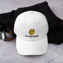 Load image into Gallery viewer, Doge To The Moon Trader Hat