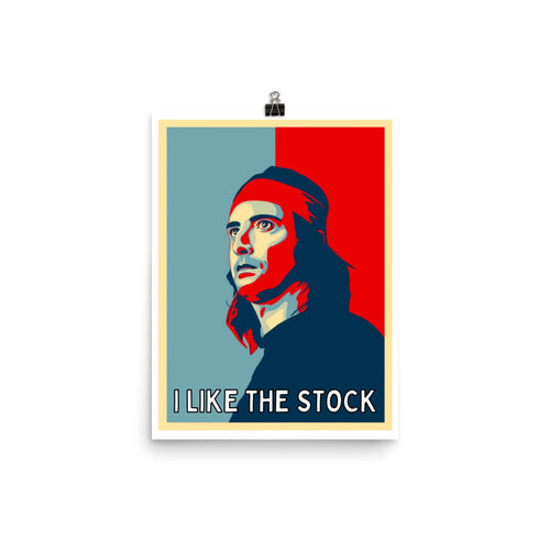 DFV I like the Stock 12 x 16 Poster
