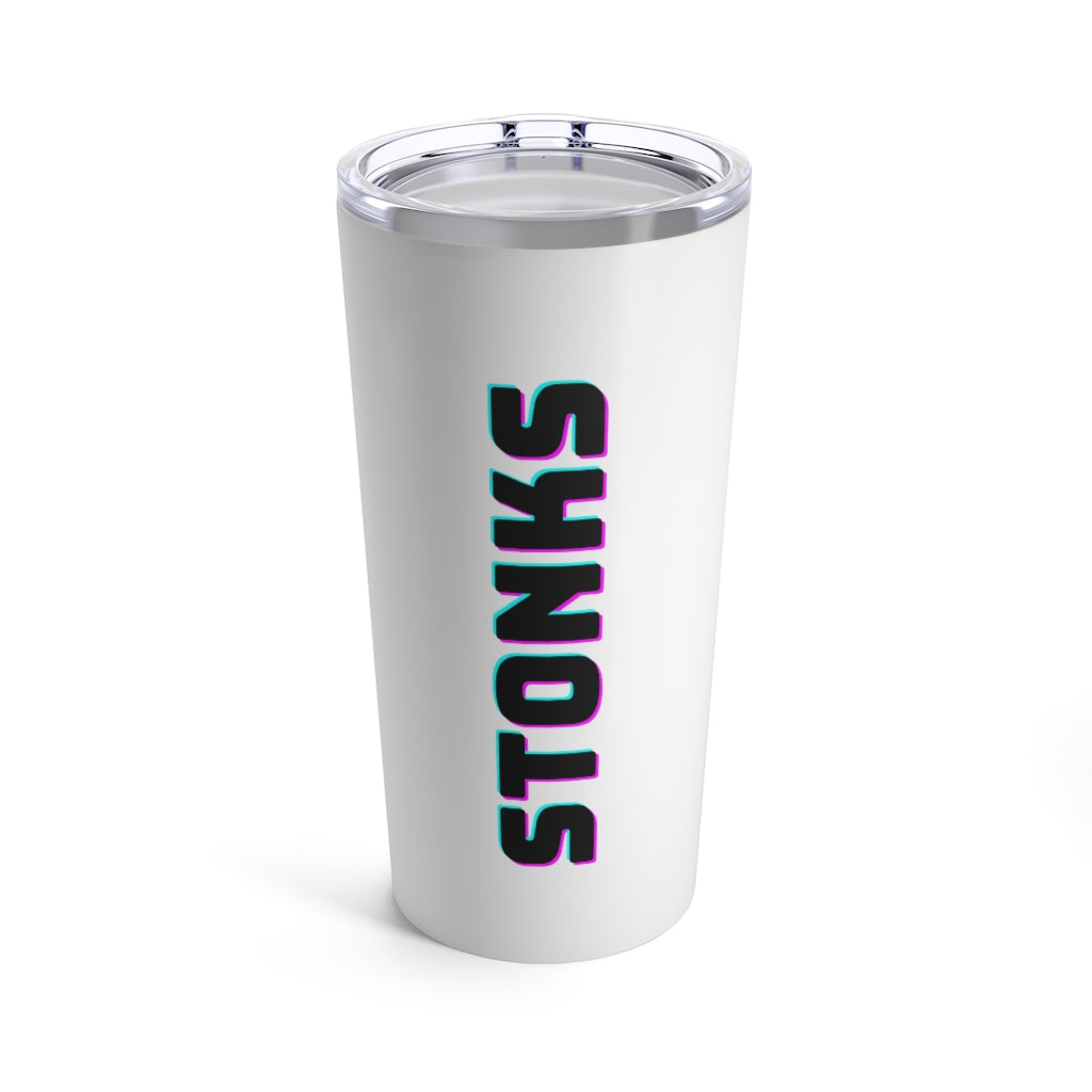 Stonks Tumbler 20oz - wallstmemes