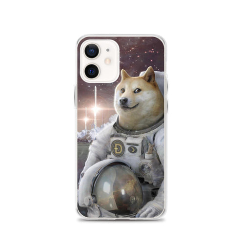 Doge to the Moon iPhone Case