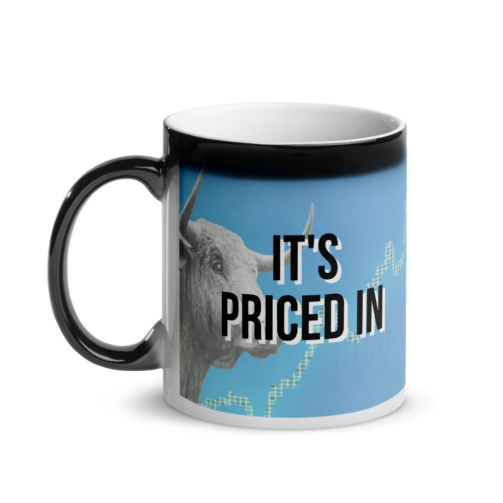 It's Priced In Glossy Magic Mug - wallstmemes