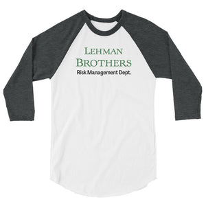 Lehman Brothers Risk Management 3/4 sleeve shirt