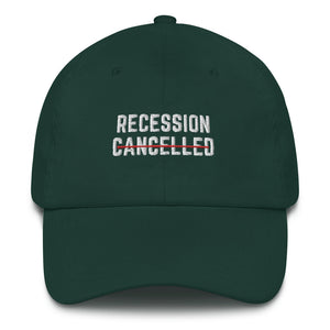 Recession Cancelled Hat - wallstmemes
