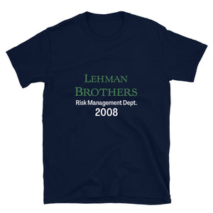 Lehman Brothers Risk Management T-Shirt