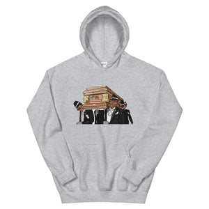 Coffin Dance Meme Bear Hoodie - wallstmemes