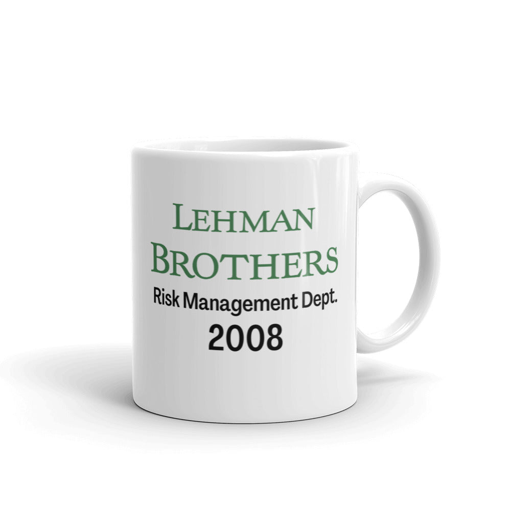 Lehman Brothers Risk Management Mug