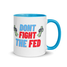 Load image into Gallery viewer, Don't Fight the Fed Mug - wallstmemes