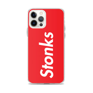 Stonks iPhone Case