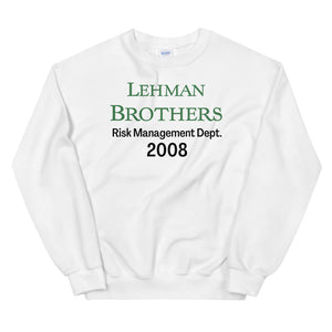 Lehman Brothers Risk Management Sweater